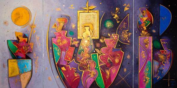 Altaristafla Kirkjusels